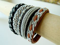 Reindeer leather bracelets from Anita Grönstedt