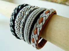 Reindeer leather bracelets from Anita Grönstedt
