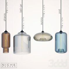 Nichemodern (Pharos,Bell-jar,Aurora,Pod)