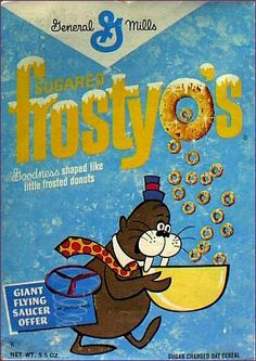 #frostyos #sugared #cereal #retro General Mills
