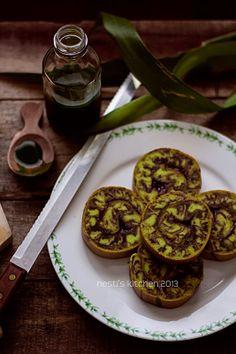 HESTI'S KITCHEN : yummy for your tummy: Bolu Gulung Marmer Pandan Coklat