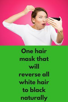 One hair mask that will reverse all white hair to black naturally Premature white hair is one of the most common problem, main reason behind this is our own lifestyle but it is not easy to change it, so today we will share some natural remedies that will reverse premature white hair to black again For this remedy you will need Fenugreek seeds Onion juice Steps to …