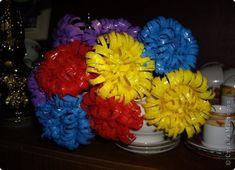 Цветы из одноразовых стаканчиков и ложек. Обсуждение на LiveInternet - Российский Сервис Онлайн-Дневников