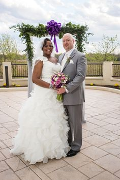 """A """"Butterfly Themed"""" Purple And Silver Wedding In Delaware - Munaluchi Bridal Magazine ...... ''Today, many people choose to find love over the Internet. For Monique and Robert, they were tired of the regular dating scene and looking for something different. In 2009, the Internet was the beginning of a love ever lasting.  Monique and Robert exchanged several emails and decided to meet up for a trial date. Their 1st meeting went well and led to an official date, which led to date two and…"""