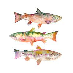 Fish Print - Furbish Studio