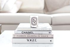 coffee table inspiration- DIPTYQUE MIMOSA CANDLE