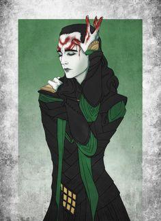 Bloody Loki by Kaitiro Aori