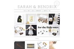Sarah & Bendrix #shopdirectory #bestonlineshops