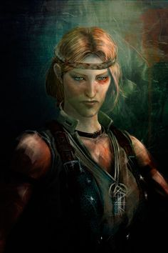 Aveline by olivegbg.deviantart.com on @deviantART, there's something about her eyes in this piece.