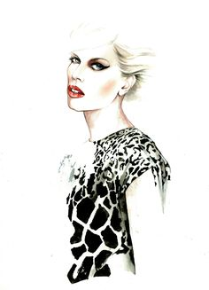 We Are Selecters - António Soares SS13 Fashion Illustrations