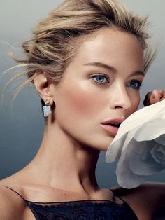Carolyn Murphy for Harper's Bazaar UK by David Slijper