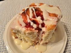 Cherry Almond Sweet Roll