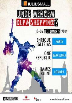 Unde mergem dupa shopping James Blunt, Enrique Iglesias, One Republic, Mall, Burns, Memes, Shopping, Europe, Meme