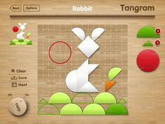 Tangram puzzle is a great educational tool for your child. This game will fascinate young players and help them improve dexterity, color recognition, memory, imagination and creativity, all while having fun.  The game has a number of templates with pictures, based on a grid, and a bank of figures which are used to complete the picture tangram.  65MB