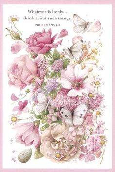Marjolein Bastin Nature's Blessings Birthday and Encouragement Cards Watercolor Flowers, Watercolor Art, Childhood Images, Marjolein Bastin, Sweet Drawings, Decoupage, Nature Artists, Dutch Artists, Country Art