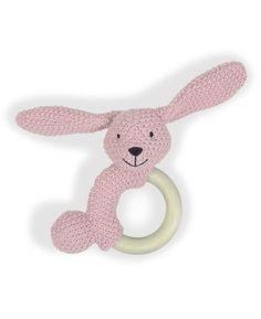Prenatal Rammelaar Poppy houten ring 0 Crochet Baby Toys, Crochet Baby Booties, Baby Knitting, Crochet Ring Patterns, Crochet Rings, Handmade Baby, Handmade Toys, Maila, Newborn Toys