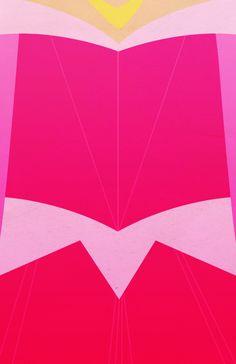 Aurora Pink Dress Background
