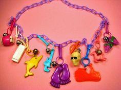 Charm bracelets - 80s