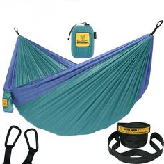 Wise Owl Outfitters Hammock Camping Double & Single with Tree Straps - USA Based. - Wise Owl Outfitters Hammock Camping Double & Single with Tree Straps – USA Based Hammocks Brand G -