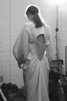 J.W. Anderson Fall 2014 - Backstage - Photographed by Sonny Vandevelde