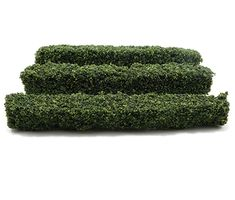 Set of 3 Small 1 1/2 in Tall Hedges by Creative Accents - Dollhouses and More Black Magic Book, Hedges, Dollhouses, Grass, Miniatures, Exterior, Creative, Garden, Plants