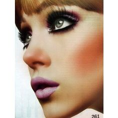 1960s makeup - wish I could pull off this look