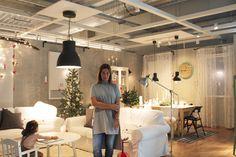 Sala de estar, sala de ficar, por Cacomae.  #Natal #decoração #bloggers #ikeaportugal