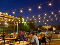 20 Essential Austin Patios for Outdoor Drinking and Dining Happy Hour, Fresco, St Austin, Austin Texas, Austin Food, Christmas Light Installation, Outdoor Restaurant, Farm Restaurant, Restaurant Concept