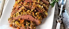 Herb Crusted Lamb with Roasted Vegetables recipe from Food in a Minute