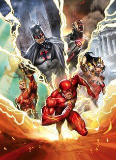 Saiu o primeiro trailer de Liga da Justiça The Flashpoint Paradox - Quadrinhos - Herói