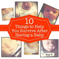 Surviving after having a baby. Advice for new moms (P.S. You'll make it!)