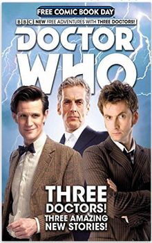 Free Doctor Who Comic Book From Amazon!
