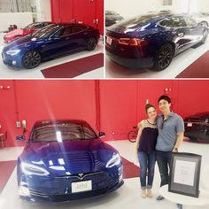 "Thank you @teslamotors for making this Friday the 13th the most ""lucky"" ever! @teslarati #tesla #model #s #models #newcar #blue #friday #fridaythe13th #lucky #blessed #deepbluemetallic #21inchwheels #upgraded #90D #isntshelovely #sweetride #dudewheresmycar #nogas #electricvehicle #ev #dreamride by kloucks88"
