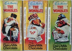 Cadbury The Wombles Wrappers Wimbledon Common, Ice Blocks, Retro Sweets, Kids Tv, Ol Days, The Good Old Days, Happy Day, Childhood Memories, Growing Up