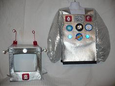 Cute Robot Costume size 4/6 for Dress by SoSewMimi on Etsy, $85.00