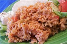A quick and easy recipe I got from Kraft. Cheesy Mexican Rice, Mexican Rice Recipes, Rice Recipes For Dinner, Baked Tofu, Quick Easy Meals, Fried Rice, Salad Recipes, Eat, Cooking