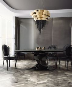 8 Bold Dining Tables That Will Make You Host A Cosy Dinner Party