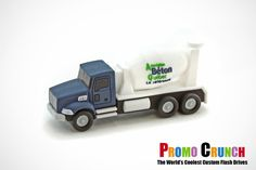 cement truck custom USB Flash Drives for marketing and promotion #marketing #advertising #USB