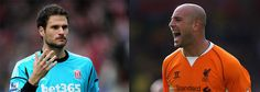 Begovic and Reina in United's sights