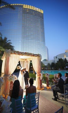 When you experience the awe of an ARIA wedding, you'll be amazed at how our expert team turns each nuance of your vision into the celebration of your dreams. #ARIAWeddings
