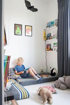 Hometour: Fiesta de colores en una casa familiar