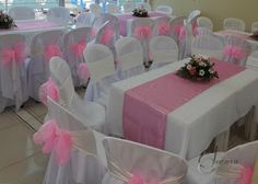 Decoración de Eventos: Planeando su babyshower o quince años? Birthday Party For Teens, Unicorn Birthday Parties, 16th Birthday, Birthday Party Themes, Pink Themes, Sweet 16 Parties, Chair Covers, Tablecloths, Babyshower