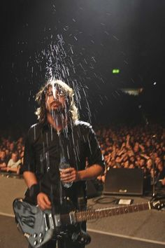 Dave Grohl. He is amazing