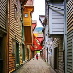 The quiet serenity of Bergen, Norway is seemingly meant for solo travelers. Photo courtesy of beatricetravels on Instagram.