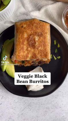 Tasty Vegetarian Recipes, Vegan Dinner Recipes, Mexican Food Recipes, Whole Food Recipes, Snack Recipes, Cooking Recipes, Healthy Recipes, Vegan Foods, Vegan Dishes