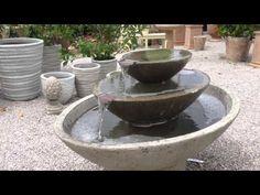 Carrera Fountain 3 Tiered Garden Fountain by Campania International from.