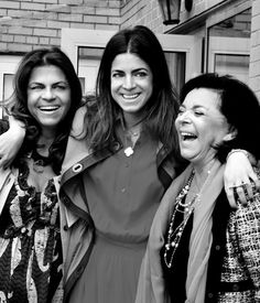 Leandra Medine, The Man Repeller, with her mother Laura, and her grandmother, Leyla.