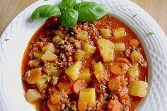 Bunter Hackfleisch-Gemüse-Eintopf 1
