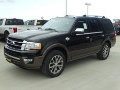 Get rolling in a 2016 #Ford Expedition King Ranch.