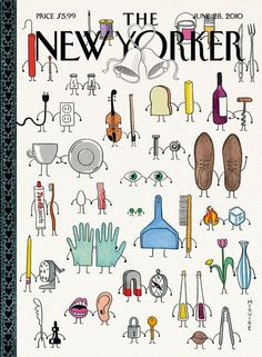 """I Do"" New Yorker Cover by Richard McGuire 